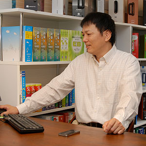 代表取締役 向原淳一 の写真